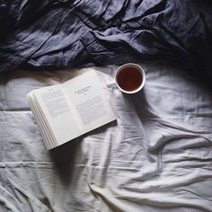 Nothing better than spending a day in my room, reading a book and drinking a cup of hot tea.