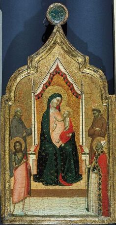 Madonna and Child Enthroned with Saints John Gualbertus, John the Baptist, Francis and Nicholas