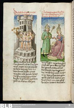 Gesta Romanorum - Donaueschingen 145  ErschienenOberschwaben,[um 1452]