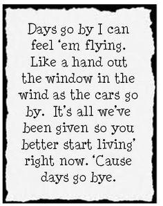 Days go by-Keith Urban-lyrics - YouTube