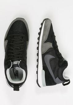 nike free run 2.0 - Nike Sportswear - INTERNATIONALIST - Sneaker - dove grey/white ...