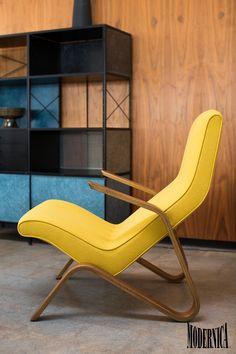 Modernica Grasshopper Chair, made in California by Modernica
