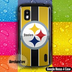 Pittsburgh Steelers NFL Team Logo Google Nexus 4 Case