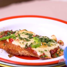 Recipe of the Day: Tex-Mex Chicken Parmesan Give your beloved chicken Parmesan some Tex-Mex flavor. Simply swap out all the classic Italian ingredients for tortilla chips, spicy cheese and salsa. And if you really miss the Parmesan in your Parmesan, sprinkle some onto the finished dish.
