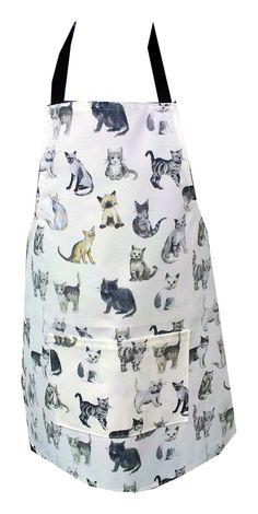 Kitsch Cat Apron £14.00
