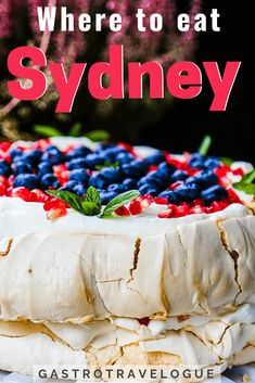 Sydney Food Guide: Wo in Sydney zu essen - Foodie Travel - Black And White Animal Photography - Belt DIY Ideas - DIY Hairstyles Easy - DIY Decor Tutorials Cooking Classes Nyc, Sydney Food, Best Places To Eat, Foodie Travel, Easy, Bakery, Food And Drink, Sydney Australia, Australia Travel