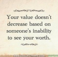 Value vs. Worth