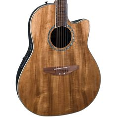 Buy Ovation Celebrity CC24-FKOA Mid Depth Acoustic Electric Guitar Hawaiian Koa at ZoZoMusic.com