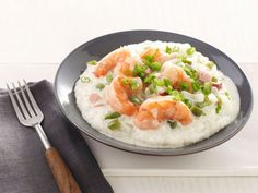 Shrimp and Grits : Give the Southern favorite a healthy makeover by scaling back on the ham and cream. With perfectly cooked shrimp atop warm grits, you'll still have bliss in a bowl.