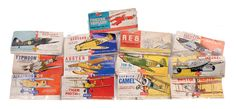 Airfix A Group Of Early Issue Bagged Aircraft Kits
