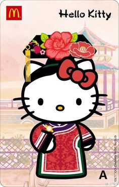 Geisha Kitty Sanrio Hello Kitty, Hello Kitty Art, Hello Kitty Tattoos, Hello Kitty Themes, Here Kitty Kitty, Kitty Cam, Hello Kitty Characters, Sanrio Characters, Hello Kitty Wallpaper