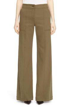 Veronica Beard 'Wanderlust' High Rise Twill Utility Pants