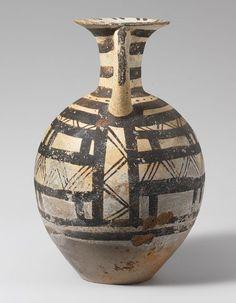 Jug, Early Cycladic III–Middle Cycladic I, ca. 2300–1900 B.C. Cycladic Terracotta | The Metropolitan Museum of Art