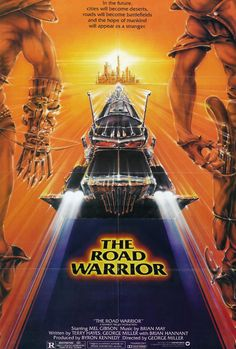 """Mad Max 2: The Road Warrior"", post-apocalyptic action film by George Miller (Australia, 1981)"