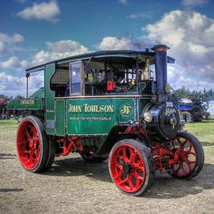 Veículos Bizarros by Daniel Alho / Foden Steam Lorry Pickering