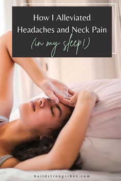 Learn what causes tension headaches, neck, and shoulder pain in your sleep and how I relieved it. Tone Arms Workout, Butt Workout, Shoulder Pain At Night, Arm Toning Exercises, Head Pain, Supplements For Women, Tension Headache, Toned Abs, Support Pillows