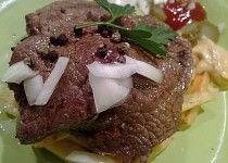 "Hovězí steak ""jedna báseň"" Steak, Food, Essen, Steaks, Meals, Yemek, Eten"