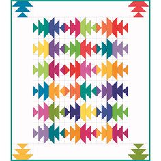 Bristling with Color Quilt