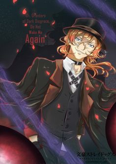 Facebook ~ Twitter ~ Instagram ~ Picarto stream Commissions  ~ Manga commissions Fanart commission for kara-hikarai Chuuya from the anime Bungo Stray Dogs. I've e...