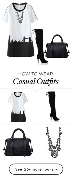 """""""Casual in the city!"""" by lollahs on Polyvore featuring Oscar de la Renta"""