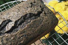 Black Sesame Coffee Loaf Cake Recipe on Sesame Recipes, Asian Recipes, Sweet Recipes, Cake Recipes, Dessert Recipes, Black Sesame Cake Recipe, Black Sesame Paste, Asian Desserts, Chinese Desserts