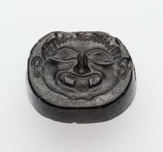 Scaraboid gem with a gorgon's head | Museum of Fine Arts, Boston
