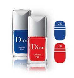 La manucure nautique de Dior http://www.vogue.fr/beaute/buzz-du-jour/diaporama/la-manucure-nautique-de-dior/18371
