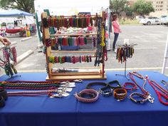 Craft show Cactus Market Days. These cord crafts are made by Kare Crafts to help support animal rehab.  https://www.etsy.com/shop/KARECrafts