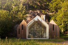 reiulf ramstad architects cluster cabins