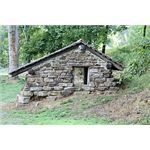 BUILD YOUR OWN SPRING HOUSE -- Homesteaders of previous centuries settled near creeks when possible. This served three purposes: drinking water, cleaning and refrigeration...