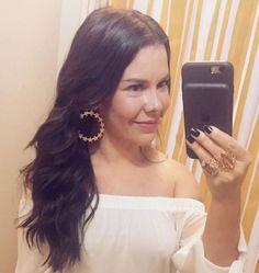 Fernanda Souza usa Rommanel! 😱 Nova coleção da Ana Hickmann... as peças estão incríveis!!Literalmente apaixonada!!❤️Essas peças já estão disponíveis no site www.ellenitajoias.com.br ou pelo whatsapp 62-982083517. #semijoias #joias #moda