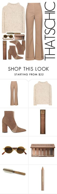 """Holiday Style: Cozy Chic"" by earthlyangel ❤ liked on Polyvore featuring Nina Ricci, Tom Ford, Sigerson Morrison, Natural Curiosities, Moschino, Urban Decay, Ibiza Hair and Estée Lauder"