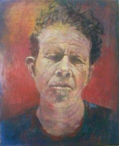 #Tom Waits#acrylic on canvas#rithva