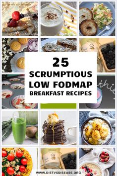 Have you been diagnosed with irritable bowel syndrome (IBS) and need to follow a low FODMAP diet?Are you lacking ideas on what to eat for breakfast?We've rounded up 25 scrumptious low FODMAP breakfast recipes to help start your day on the right foot. Fodmap Foods, Fodmap Recipes, Fodmap Diet, Low Fodmap, Diet Recipes, Breakfast On The Go, Breakfast Dessert, Dessert For Dinner, Breakfast Recipes