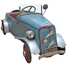 Vintage Child's Peddle Car   From a unique collection of antique and modern toys at http://www.1stdibs.com/furniture/more-furniture-collectibles/toys/