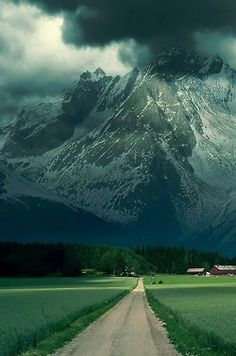 Summer Storm, The Alps, France photo via emily