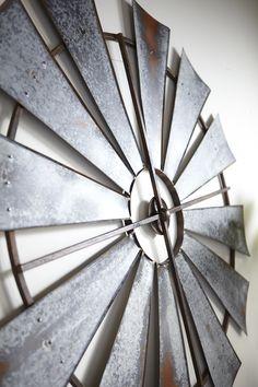 Details About 60 Quot Rustic Texas Half Windmill Head Fan