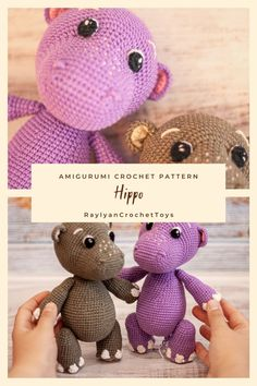 Amigurumi Toys, Crochet Patterns Amigurumi, Crochet Toys, Made Video, Close Up Photos, Step By Step Instructions, Plush, Teddy Bear, This Or That Questions
