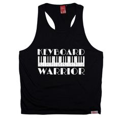 Banned Member Keyboard Warrior Piano Men's Tank Top