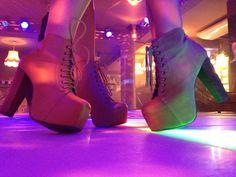 Jeffrey Campbell Lita on the dance floor :)