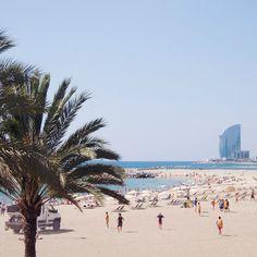 Beach of Barcelona, Catalonia