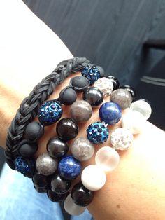 semiprecious stones bracelet handmade with love :-))
