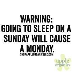 Enjoy your Sunday while you can! #Happy #Sunday #SundayFunday #AnAppleADay #OrganicSkincare #AllNatural #Vegan #CrueltyFree #Beauty #SkinCare #SmallBatch #GreenBeauty #ecoSkincare #ShopSmall #GreenvilleSC #yeahTHATgreenville #HaveABeautifulDay #BeautifulSkinStartsHere #AppleOrganics