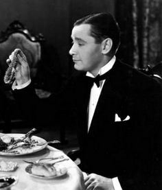 """1932 - Herbert Marshall in """"Trouble in Paradise"""". I adore this man:)"""