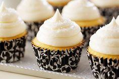 Fluffy Vanilla Cupcakes by Anna Olson