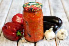 Tocăniță de vinete. Nu ratați această rețetă delicioasă - Bucatarul Salsa, Jar, Stuffed Peppers, Vegetables, Food, Canning, Stuffed Pepper, Essen, Vegetable Recipes