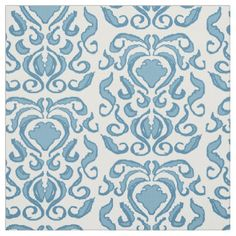 #robins #egg #blue #aqua #color #damask #white #background #fabric #repeat #pattern - #FABRIC #FORSALE @zazzle #save #25% off #CODE #TENTH4ZAZZLE at http://zazzle.com/fabricatedframes/fabric?rf=238001022235983905 ends July 20, 2015