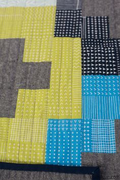 Blueberry Park Plus and Minus quilt by Emily of Quilty Love. Modern plus quilt pattern. Easy quilt pattern for the beginner quilter. Boy Quilts, Girls Quilts, How To Sew Baby Blanket, Quilting Projects, Diy Projects, Plus Quilt, Cross Quilt, Straight Line Quilting, Plus And Minus