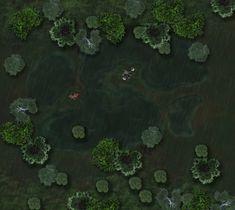 swamp map rpg maps night fantasy rainy maker dungeon battle lake imgur village tiles dragons battlemaps shadowrun river pathfinder dd