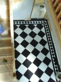 Hall Tiles, Tiled Hallway, Entrance Hall, More Photos, Facebook, Black And White, Classic, Derby, Entryway